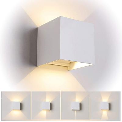 LED Apliques De Pared Modernos En Acero