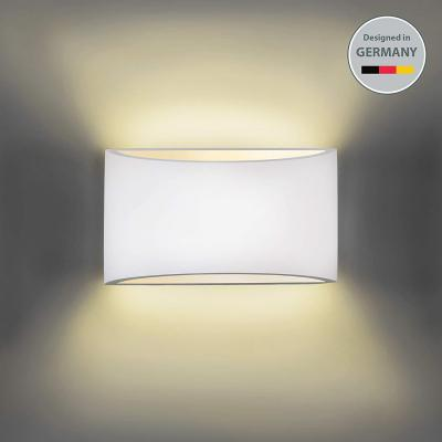 Lámpara de pared de yeso LED 20x8