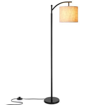 Zanflare Lámpara de pie para salón. Lámpara de pie con pantalla colgante