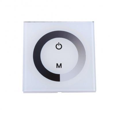 Dc12-24v Panel De Control Táctil De Pared Panel De Control Led Interruptor De Regulador