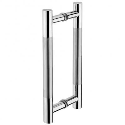 mango de puerta de inodoro puerta de armario de madera Tirador para puerta de granero de acero inoxidable Tiberham