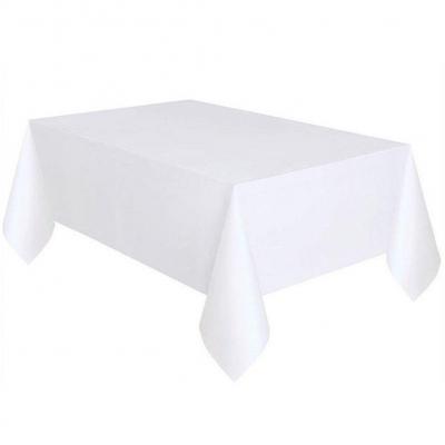 Mantel de mesa rectangular de color sólido de 137 x 274 cm