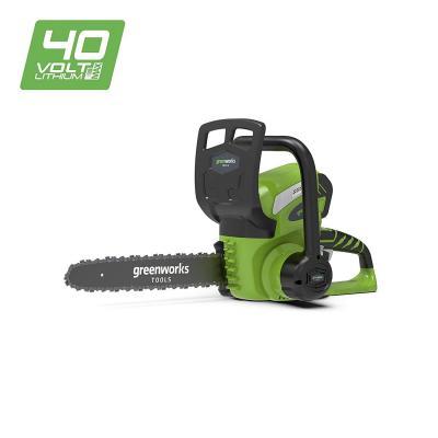 Greenworks Motosierra inalámbrica de 30cm y 40V Li-Ion