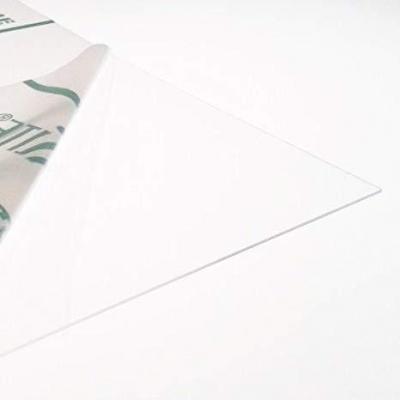 Lámina de plástico PETG transparente de 1 mm de espesor