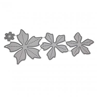 JiaMeng Troqueles de Corte de Metal Acero Corazón de la Flor Plantillas de Troqueles de Corte de Metal DIY Scrapbooking Album Paper Card